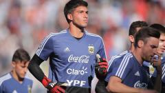 Indosport - Joaquin Blazquez, kiper muda asal Argentina.