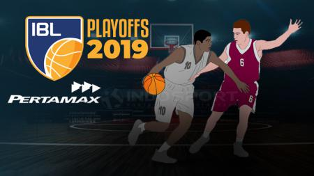 Logo IBL playoffs 2019 - INDOSPORT