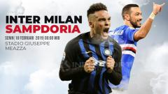 Indosport - Prediksi Inter Milan vs Sampdoria