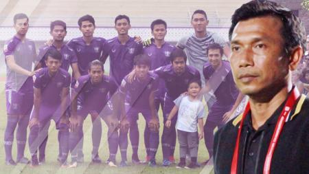 Widodo Cahyono Putro dan skuat Persita Tangerang - INDOSPORT