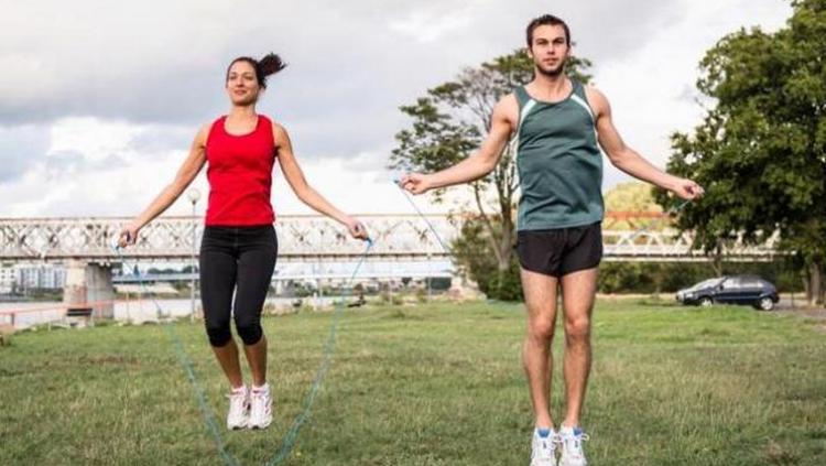 Ilustrasi Olahraga Lompat Tali Copyright: Istimewa