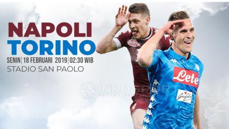 Prediksi Napoli vs Torino. - INDOSPORT