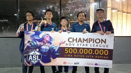 EVOS.AOV resmi mempertahankan gelar juara dan akan mewakili Indonesia pada gelaran AOV World Cup di Vietnam - INDOSPORT