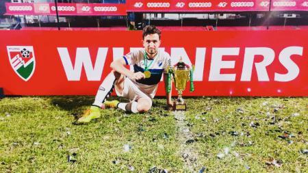 Striker Timnas Pakistan, Saadullah Khan yang dirumorkan ke Persib Bandung jelang Liga 1 2019 - INDOSPORT