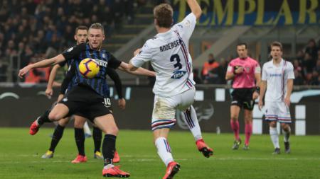 Tertarik bermain bersama Ronaldio, Milan Skriniar ingin tinggalkan Inter Milan? - INDOSPORT