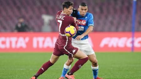 Napoli vs Torino. - INDOSPORT