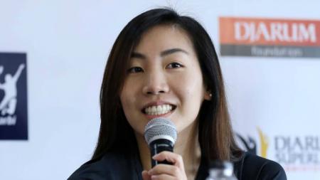Pebulutangkis Kanada, Michelle Li, yang akan bertarung di Djarum Superliga Badminton 2019. - INDOSPORT