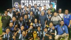 Indosport - Akademi Persib kota Cimahi Juara di Turnamen Walikota Banjar 2019.