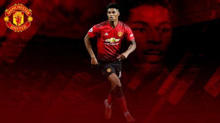 Marcus Rashford striker Man United - INDOSPORT