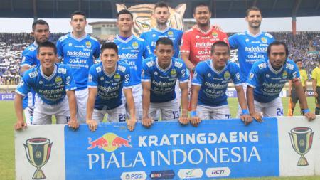 Skuat Persib Bandung. Foto: Arif Rahman/INDOSPORT - INDOSPORT