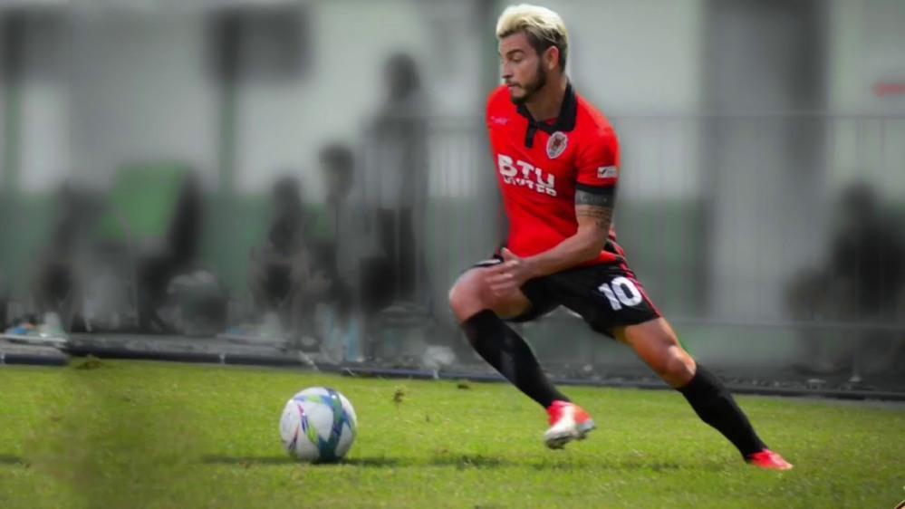 Diego Silva, pemain yang dirumorkan ke Persija Jakarta Copyright: Youtube/Diego Oliveira Silva