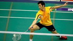 Indosport - Nguyen Tien Minh, pemain Vietnam yang ikut tim Jaya Raya Jakarta di Djarum Superliga Badminton 2019.