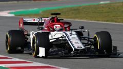 Indosport - Alfa Romeo mobil baru di Formula 1.