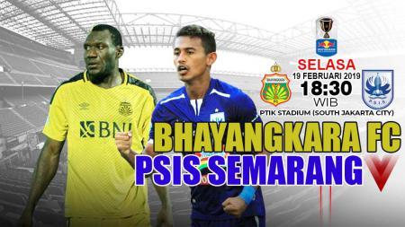 Pertandingan Bhayangkara vs PSIS Semarang - INDOSPORT