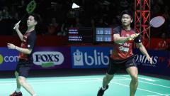 Indosport - Kevin Sanjaya Sukamuljo telah melalui jalan panjang dalam kariernya sebagai pemain bulutangkis profesional, sempat dipasangkan dengan Praveen Jordan.