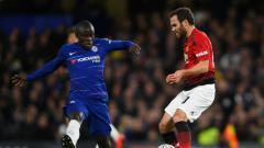 Indosport - Chelsea vs Manchester United.