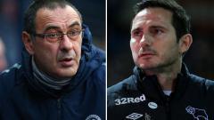 Indosport - Fans ingin Lampard gantikan Sarri