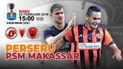 Indosport - Pertandingan Perseru Serui vs PSM Makassar.