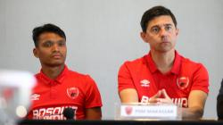 Konferensi pers jelang laga leg kedua babak 16 besar Piala Indonesia, Perseru Serui vs PSM Makassar, Selasa (19/02/19).