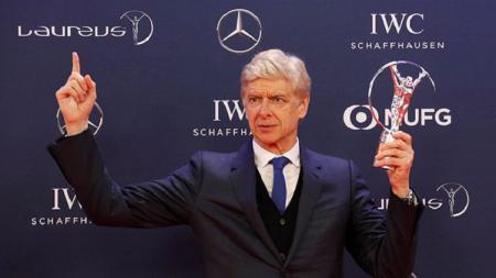 Arsene Wenger memenangkan Lifetime Achievement Laureus Awards - INDOSPORT