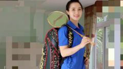 Indosport - Vu Thi Trang, pebulutangkis Vietnam.