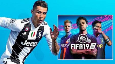 Sampul FIFA 19 yang tidak lagi menyertakan megabintang Cristiano Ronaldo - INDOSPORT