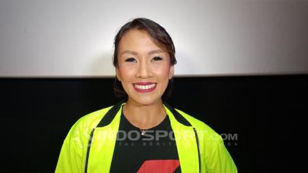 Melanie Putria, Aktris sekaligus pegiat olahraga lari. - INDOSPORT