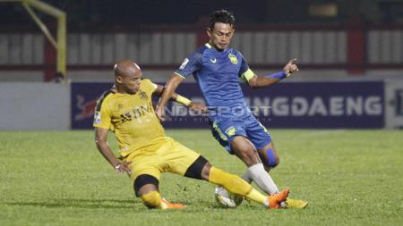 Laga leg pertama babak 16 besar Piala Indonesia, Bhayangkara FC vs PSIS Semarang - INDOSPORT
