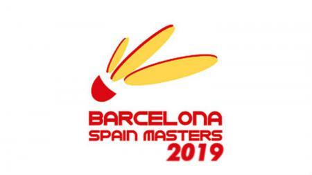 Logo Spain Masters 2019. - INDOSPORT