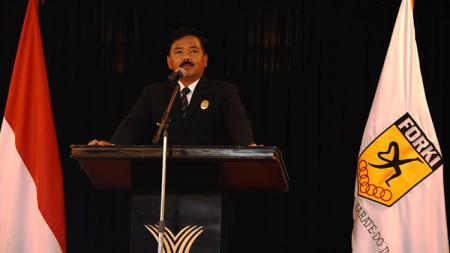 Marsekal TNI Hadi Tjahjanto, Ketum Baru FORKI. - INDOSPORT