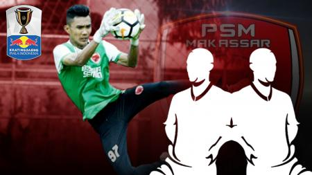 Kiper muda PSM Makassar, Hilman Syah. - INDOSPORT