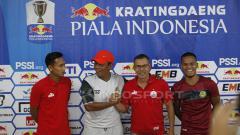 Indosport - Jumpa pers jelang leg 2 babak 16 besar Persija vs PS Tira Persikabo