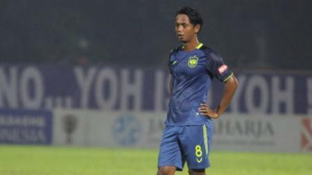 Pemain PSIS, Heru Setyawan. - INDOSPORT