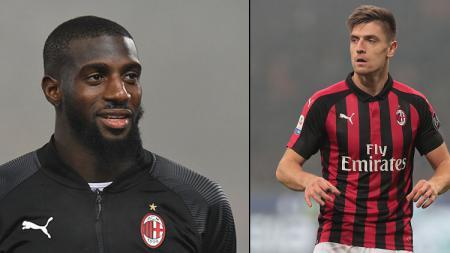 Tiemoue Bakayoko dan Krzysztof Piatek, 2 bintang AC Milan. - INDOSPORT