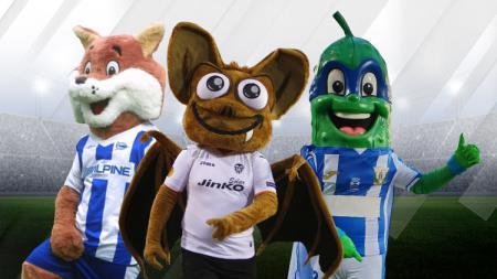 Maskot Sepak bola, Alaves, Valencia, dan Leganes - INDOSPORT