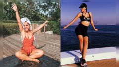 Indosport - Erika Choperena dan Georgina Rodriguez