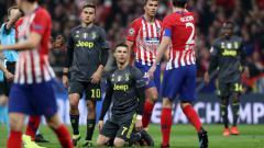 Indosport - Atletico Madrid vs Juventus, Pertandingan Liga Champions