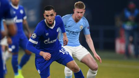 Schalke vs Manchester City. - INDOSPORT