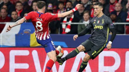 Atletico Madrid vs Juventus, Pertandingan Liga Champions - INDOSPORT