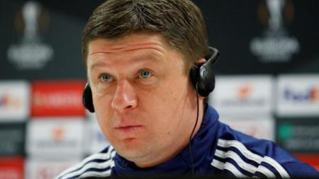 Pelatih BATE Brisov, Alayaksei Baha. - INDOSPORT