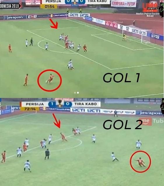 Situasi pertandingan Persija Jakarta vs PS TIRA Persikabo Copyright: INDOSPORT
