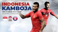 Indosport - Timnas Indonesia U-22 vs Kamboja U-22