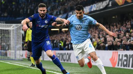 Chelsea vs Malmo. - INDOSPORT