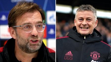 Ole Gunnar Solskjaer harus diberi kesempatan agar bisa menerapkan prinsipnya di Manchester United seperti Jurgen Klopp di Liverpool. - INDOSPORT