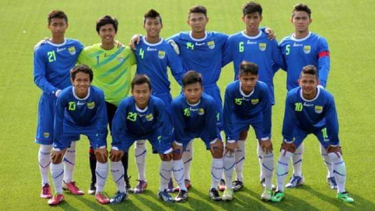 Skuat Persib Bandung U-17 Copyright: Istimewa