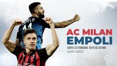 Indosport - Prediksi AC Milan vs Empoli.