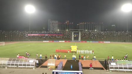 Timnas Indonesia U-22 vs Kamboja U-22. - INDOSPORT