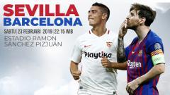 Indosport - Sevilla vs Barcelona