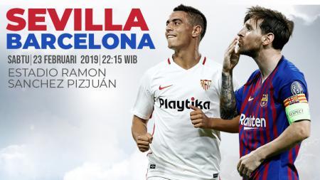 Sevilla vs Barcelona - INDOSPORT