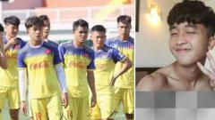 Indosport - Striker Timnas Vietnam yang produktif di Piala AFF U-22 2019, Tran Danh Trung.